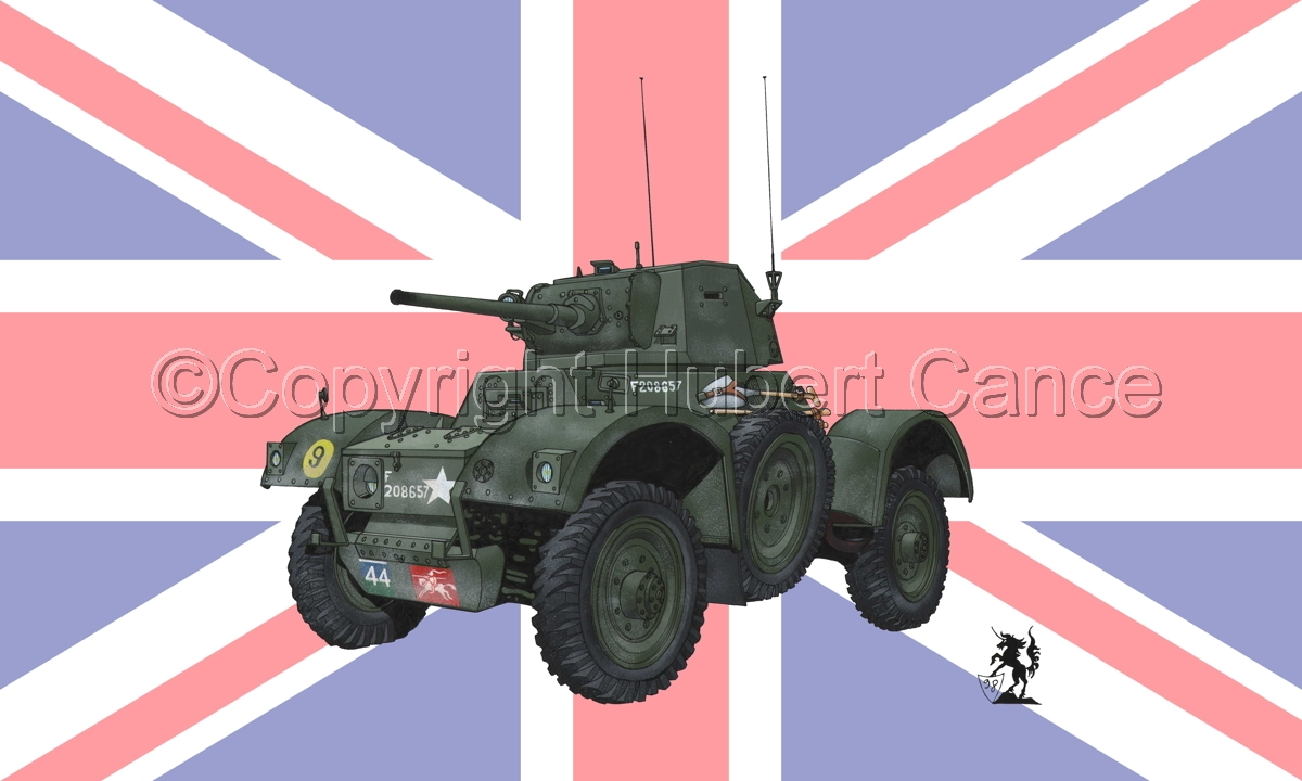 Daimler Mk.I Armoured Car (Flag) (large view)