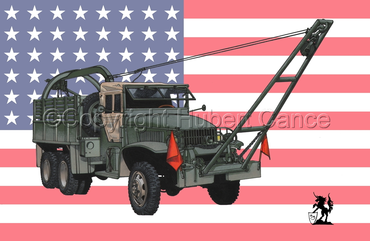 GMC CCKW-352 Lot.7 (Flag #1) (large view)