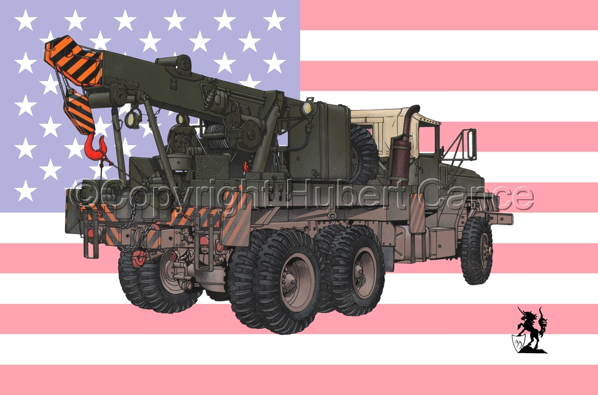 AM M936 Recovery Truck (Flag #1) (large view)