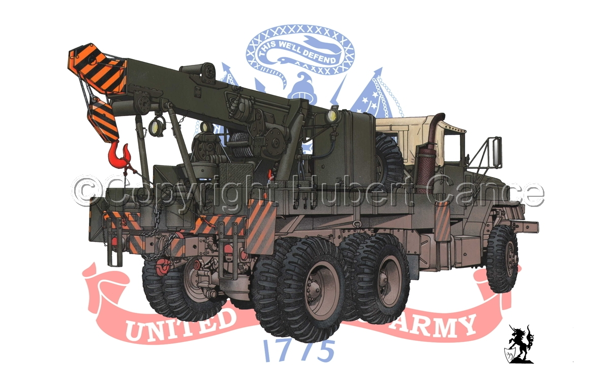 AM M936 Recovery Truck (Flag #2) (large view)