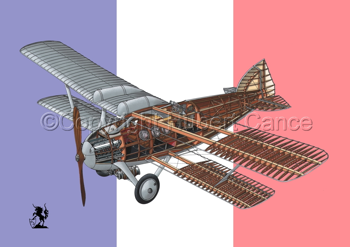 Bleriot-SPAD S.46 (Flag #1) (large view)