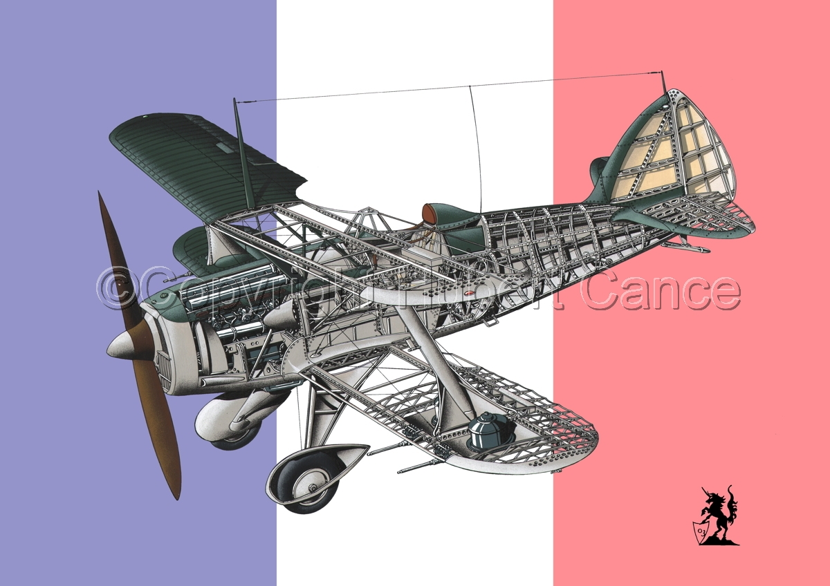 Blériot-SPAD 510 (Flag #1) (large view)