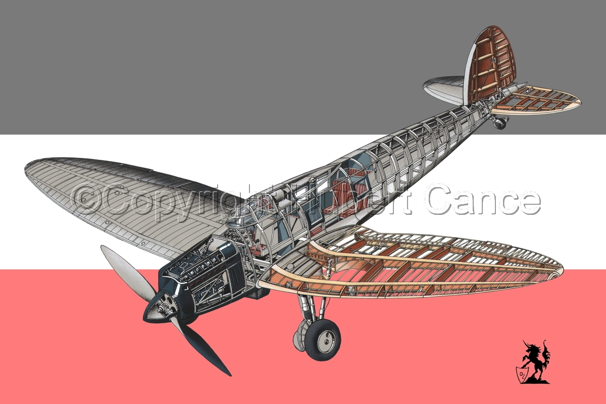 Heinkel He.70 Airliner (Flag #1) (large view)