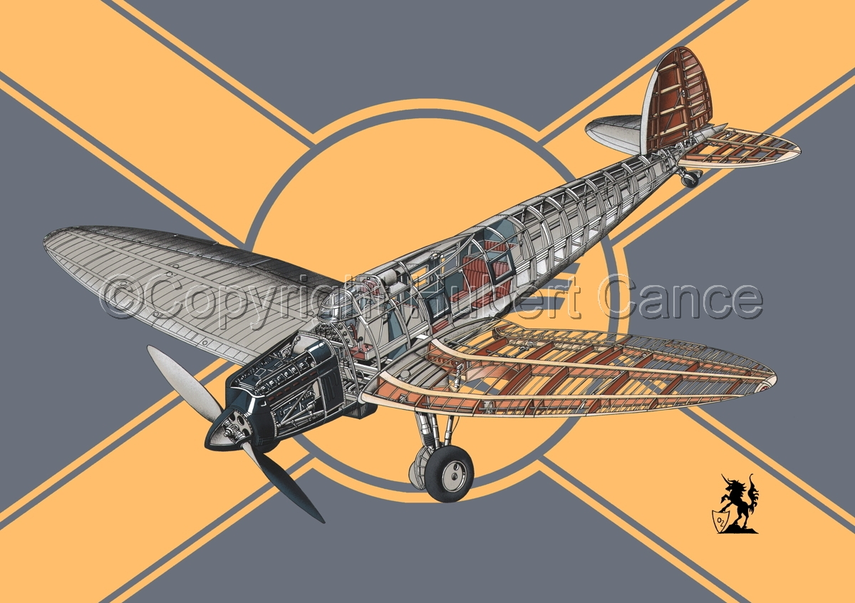 Heinkel He.70 Airliner (Flag #2) (large view)