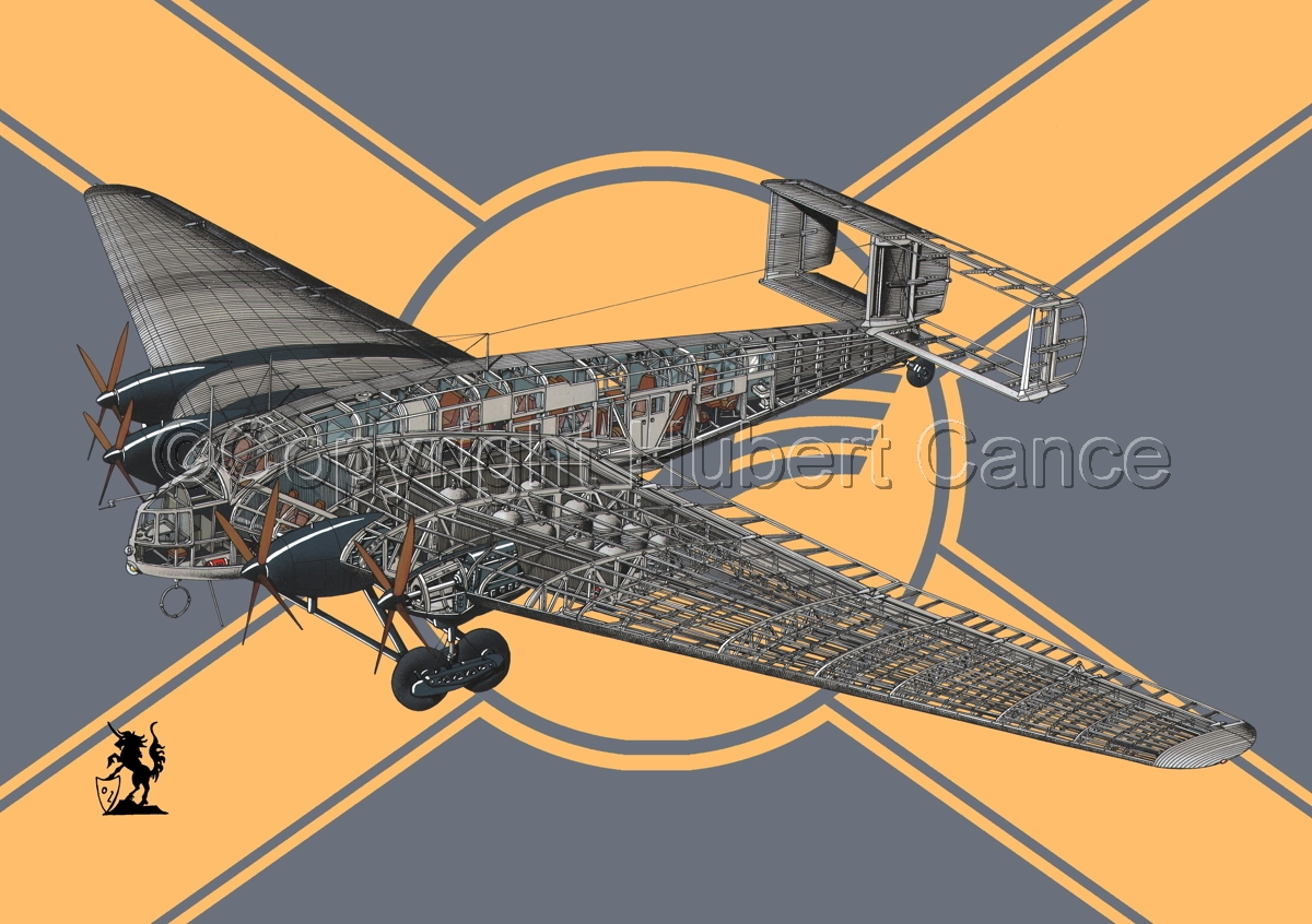 Junkers G 38 ce (Flag #2) (large view)