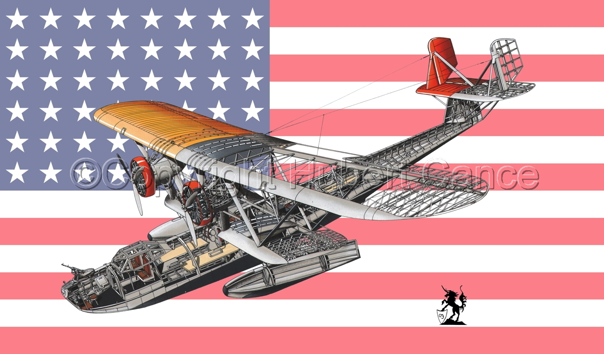 """Consolidated P2Y-1 """"Ranger"""" (Flag #1) (large view)"""