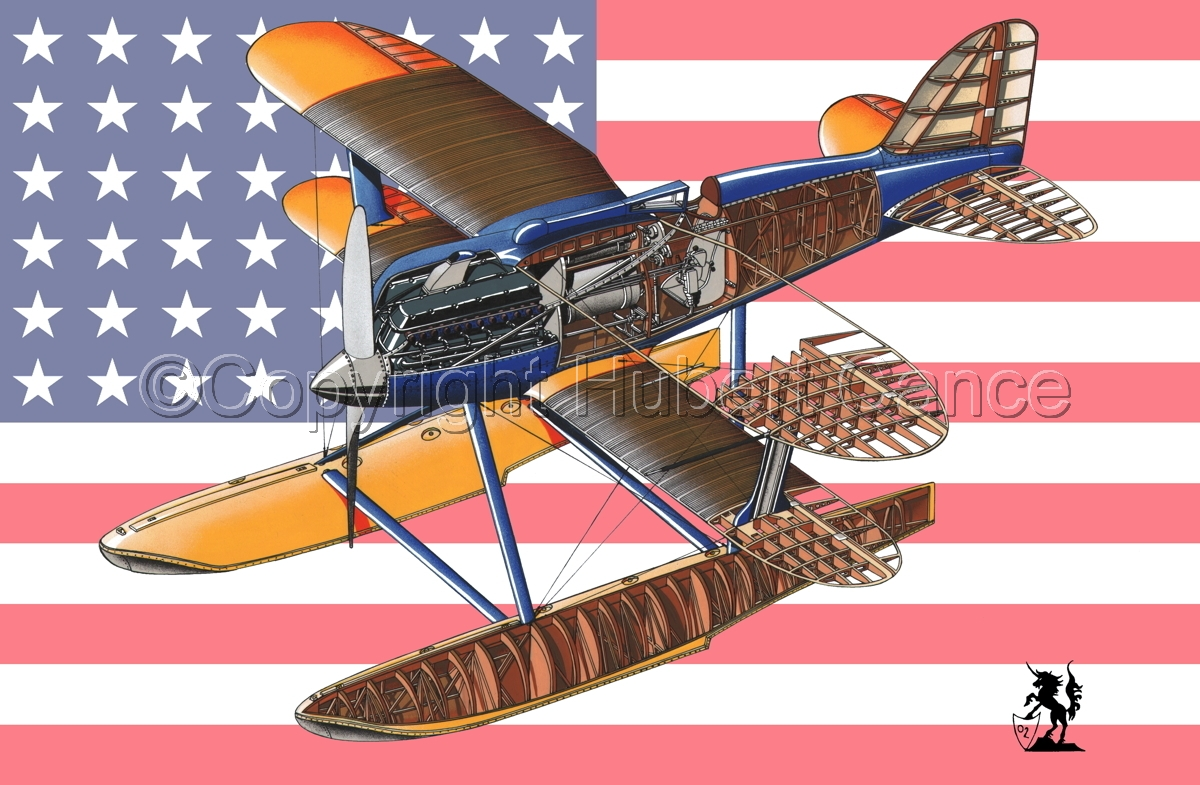 Curtiss R3C2 Army Racer (Flag #1) (large view)