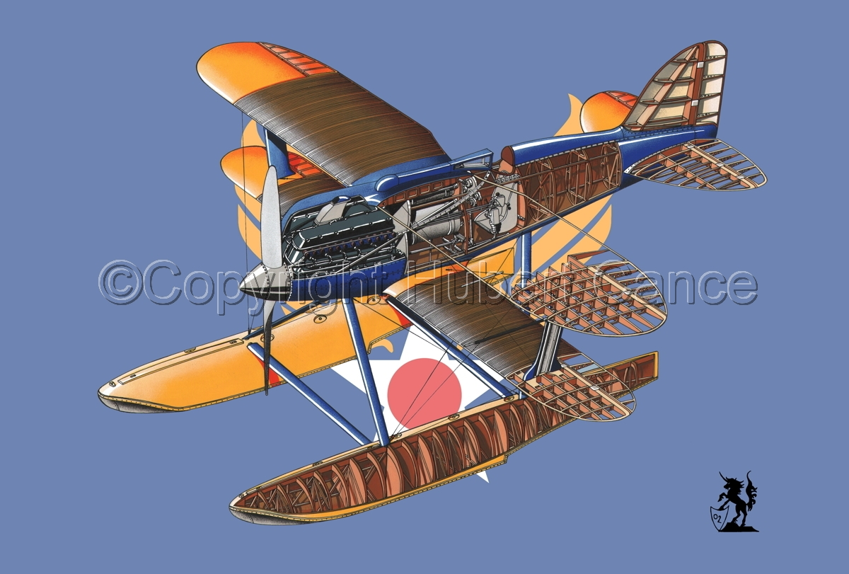Curtiss R3C2 Army Racer (Flag #2) (large view)