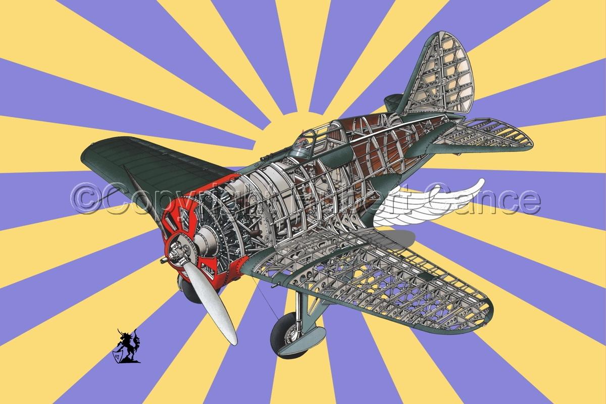 Polikarpov I.16 Type 5 (Flag #2) (large view)