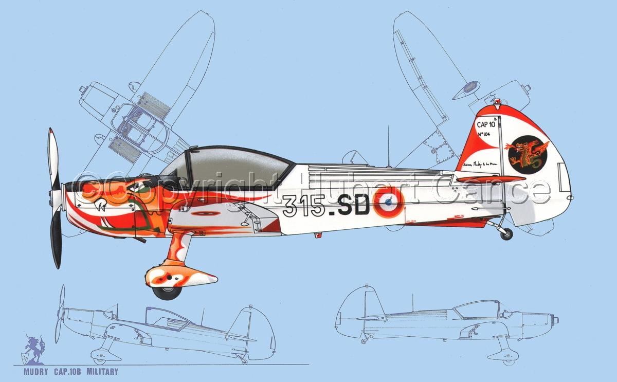 Mudry CAP-10B (Blueprint #1) (large view)