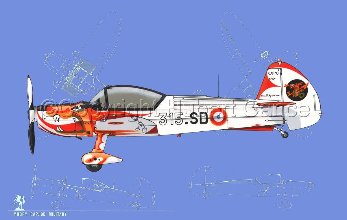 Mudry CAP-10B (Blueprint #2) (large view)