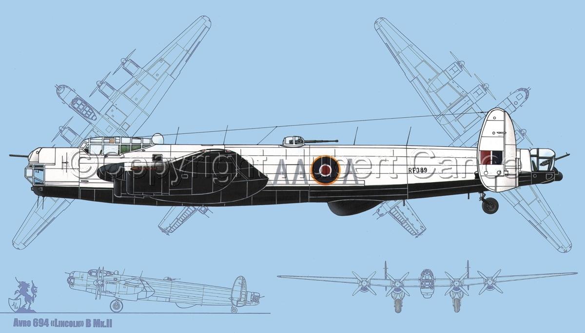 "Avro ""Lincoln"" B.2/3G #1 (Blueprint #1) (large view)"
