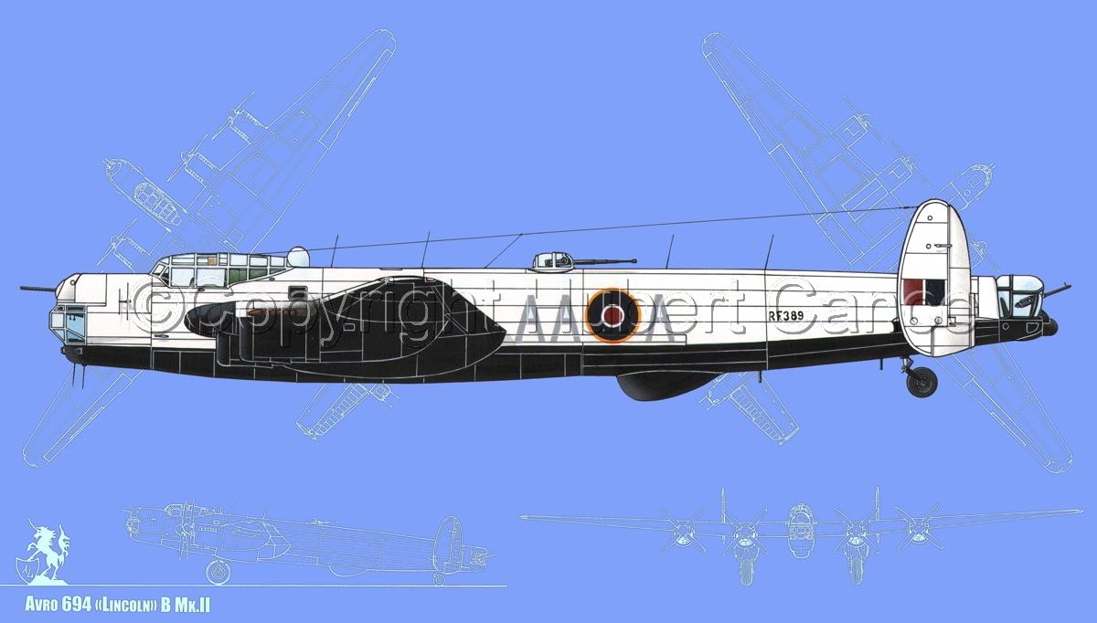 "Avro ""Lincoln"" B.2/3G #1 (Blueprint #2) (large view)"