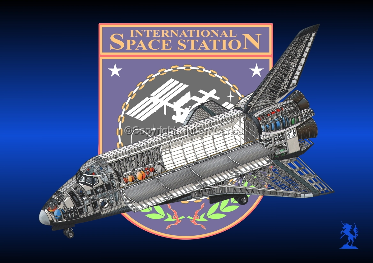 Rockwell Space Shuttle (Insignia #1) (large view)