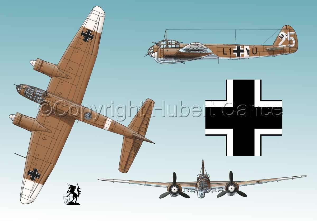 Junkers Ju 88A-4 (Roundel #1.3) (large view)