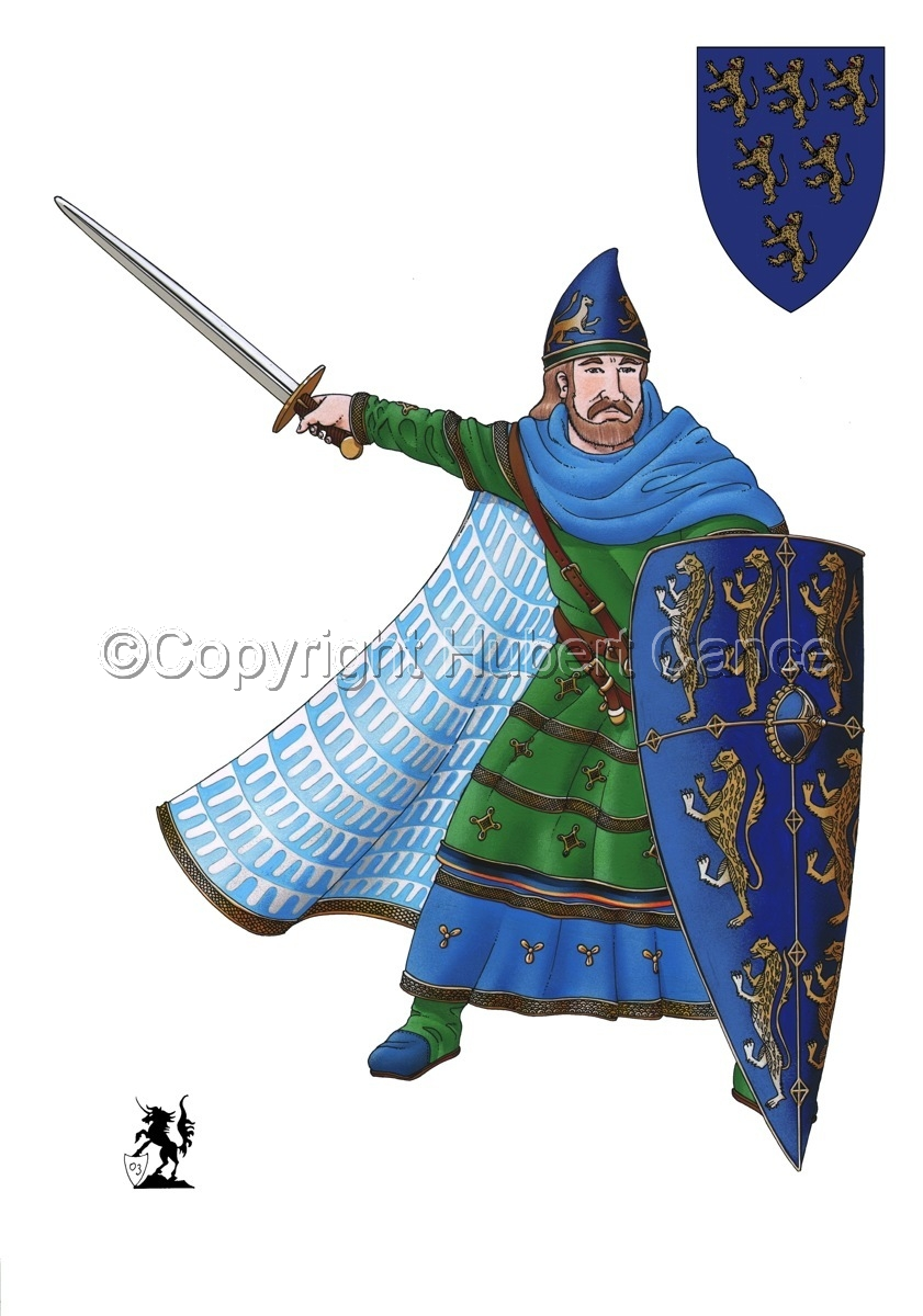 Geoffroy V, Plantagenet, Count of Anjou (Shield #1) (large view)