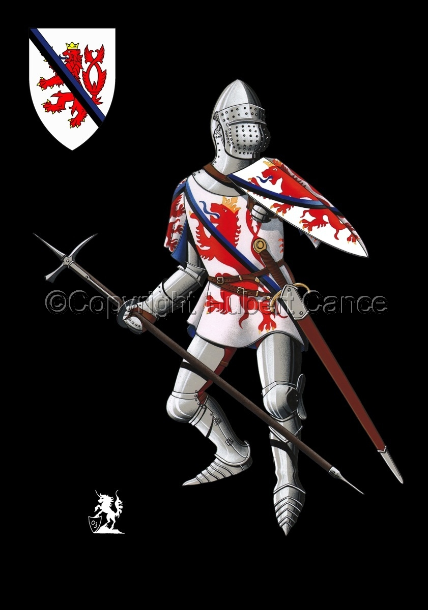 Jean of Luxembourg (1466) (Shield #2) (large view)
