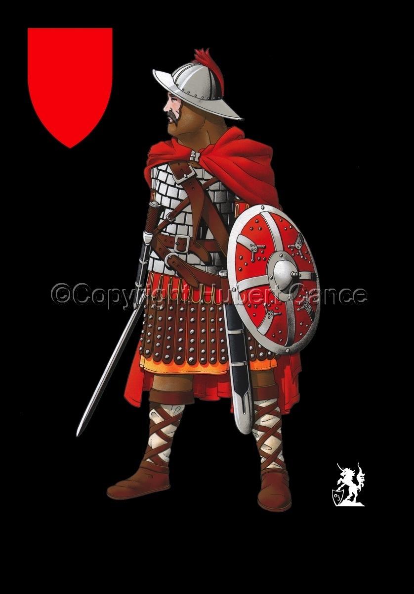 Guard of Emperor Carolus Magnus (800) (Shield #2) (large view)