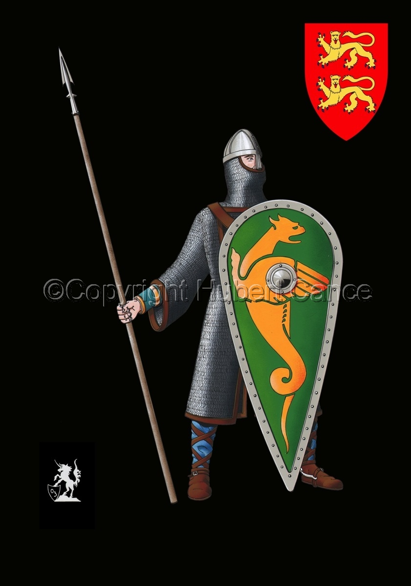 Normand Knight, Hastings (1066) (Shield #2) (large view)