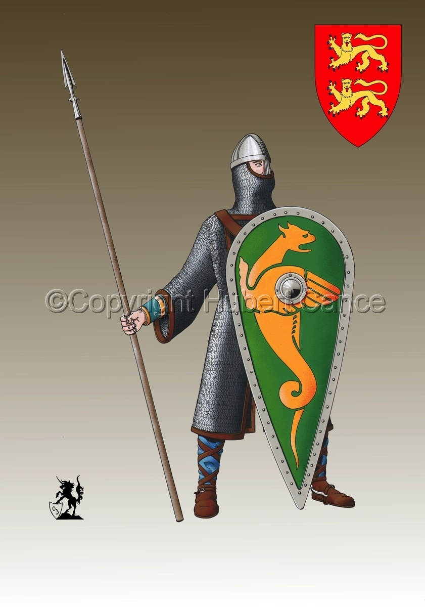 Normand Knight, Hastings (1066) (Shield #3) (large view)