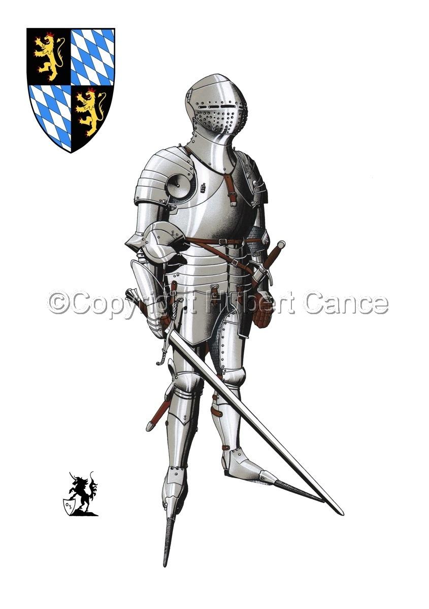 Kurfursft Friedrich I von der Pfalz (Shield #1) (large view)