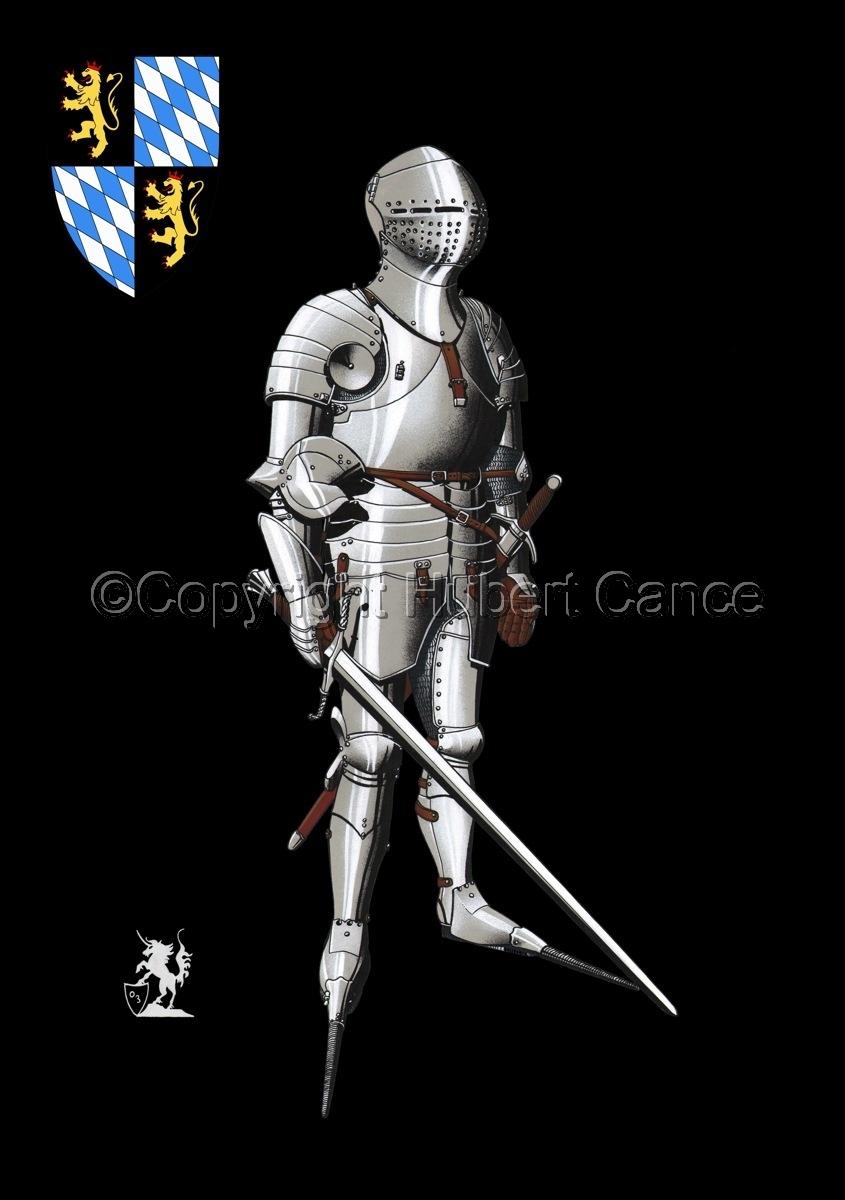 Kurfursft Friedrich I von der Pfalz (Shield #2) (large view)