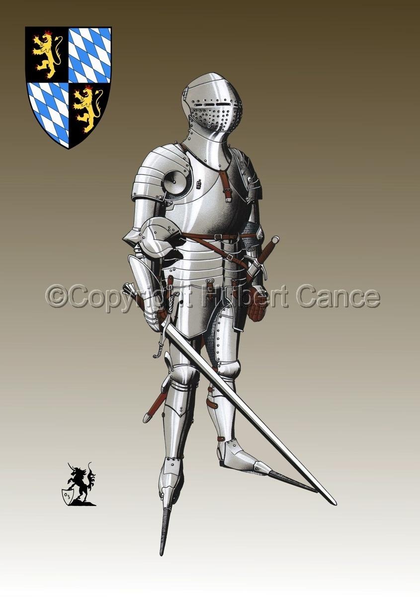 Kurfursft Friedrich I von der Pfalz (Shield #3) (large view)