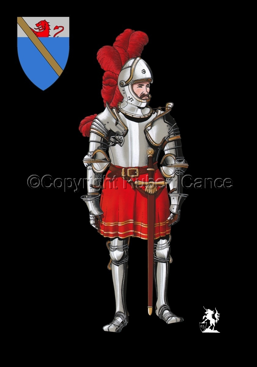 Pierre III Terrail, Knight of Bayard (1524) (Shield #2) (large view)