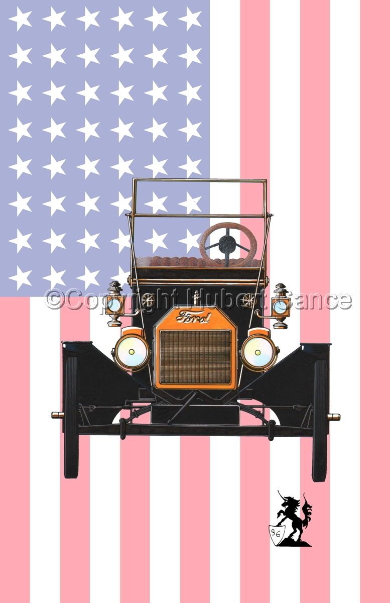 Ford T (Flag) (large view)
