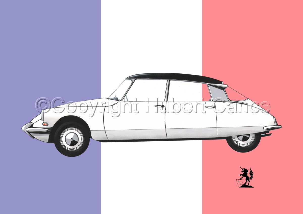 Citroen DS 19 (Flag #1) (large view)