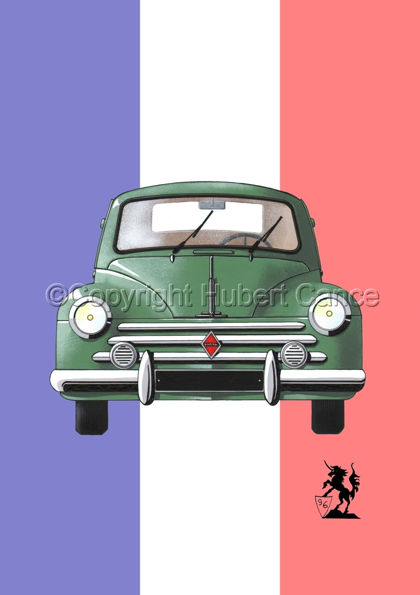 Renault 4 CV (Flag #1) (large view)