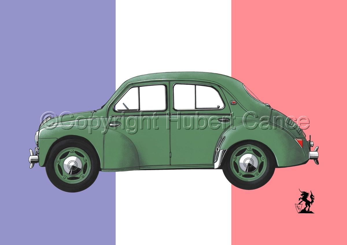Renault 4 CV (Flag #2) (large view)