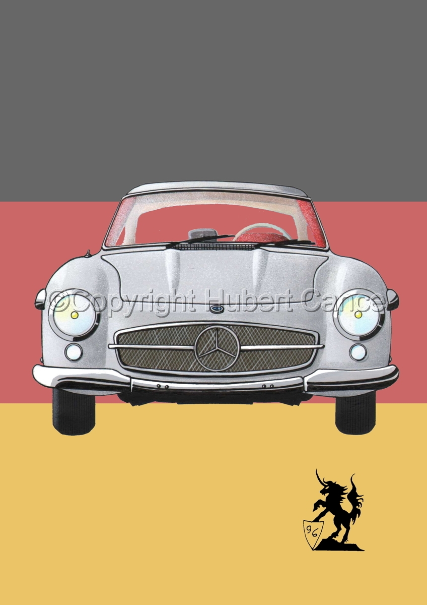 Mercedes-Benz 300SL (Flag #1) (large view)