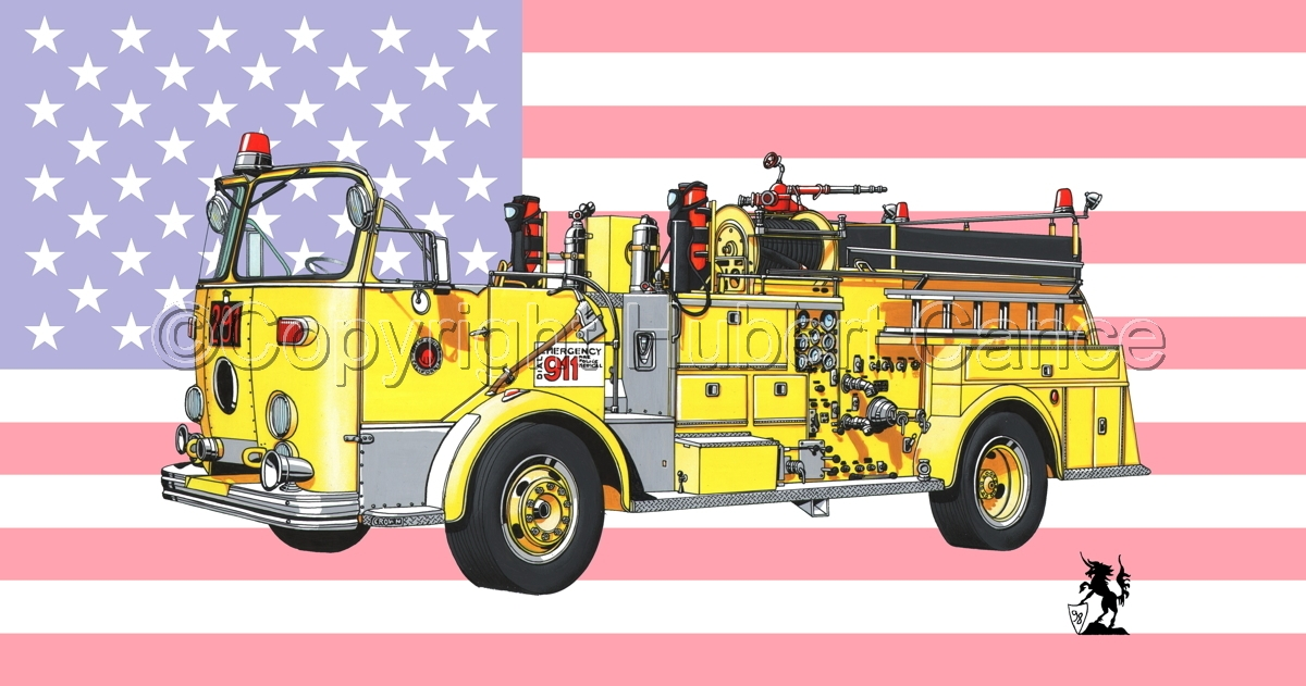 American-LaFrance Model 800 (Flag #1) (large view)