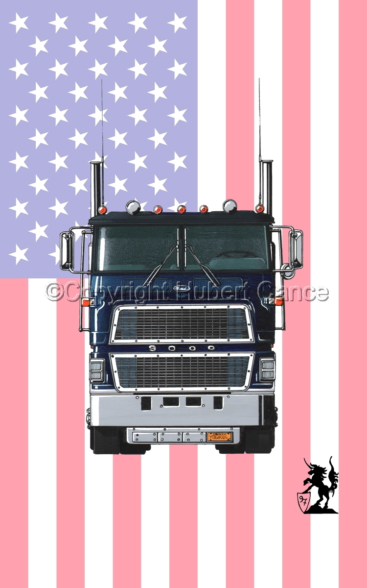 Ford CL9000 Tractor (Flag #1) (large view)