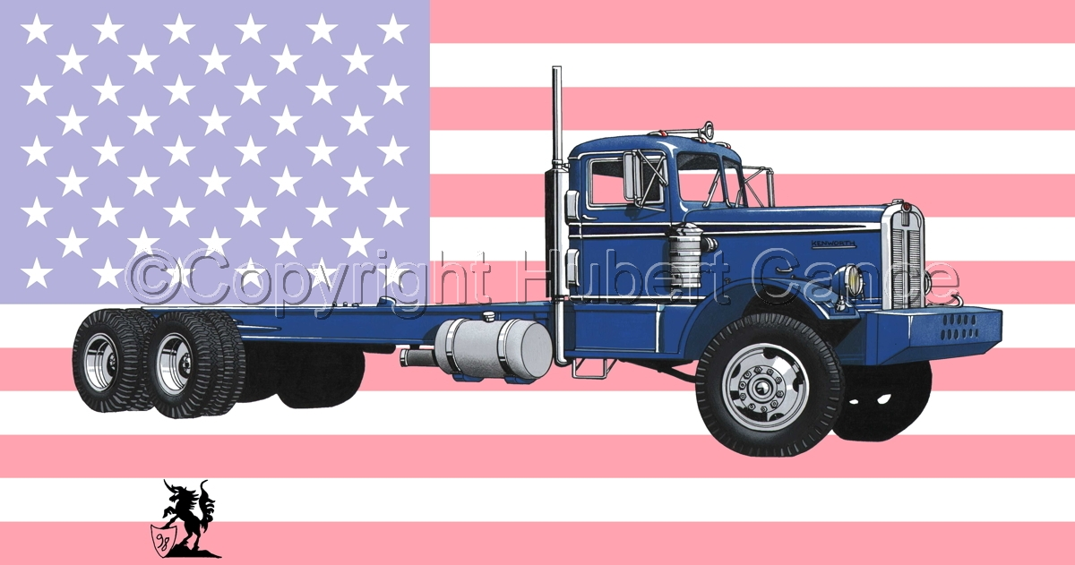 Kenworth Model 548 (Flag #1) (large view)