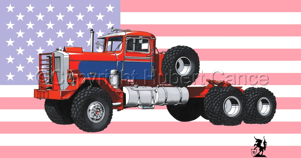 Kenworth Model 552 Tractor (Flag #1) (large view)