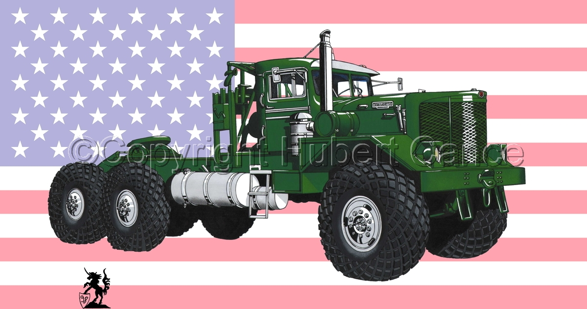 Kenworth Model 953 Tractor (Flag #1) (large view)
