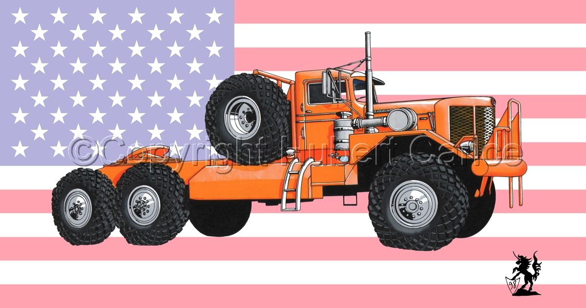 Kenworth Model 984 Tractor (Flag #1) (large view)