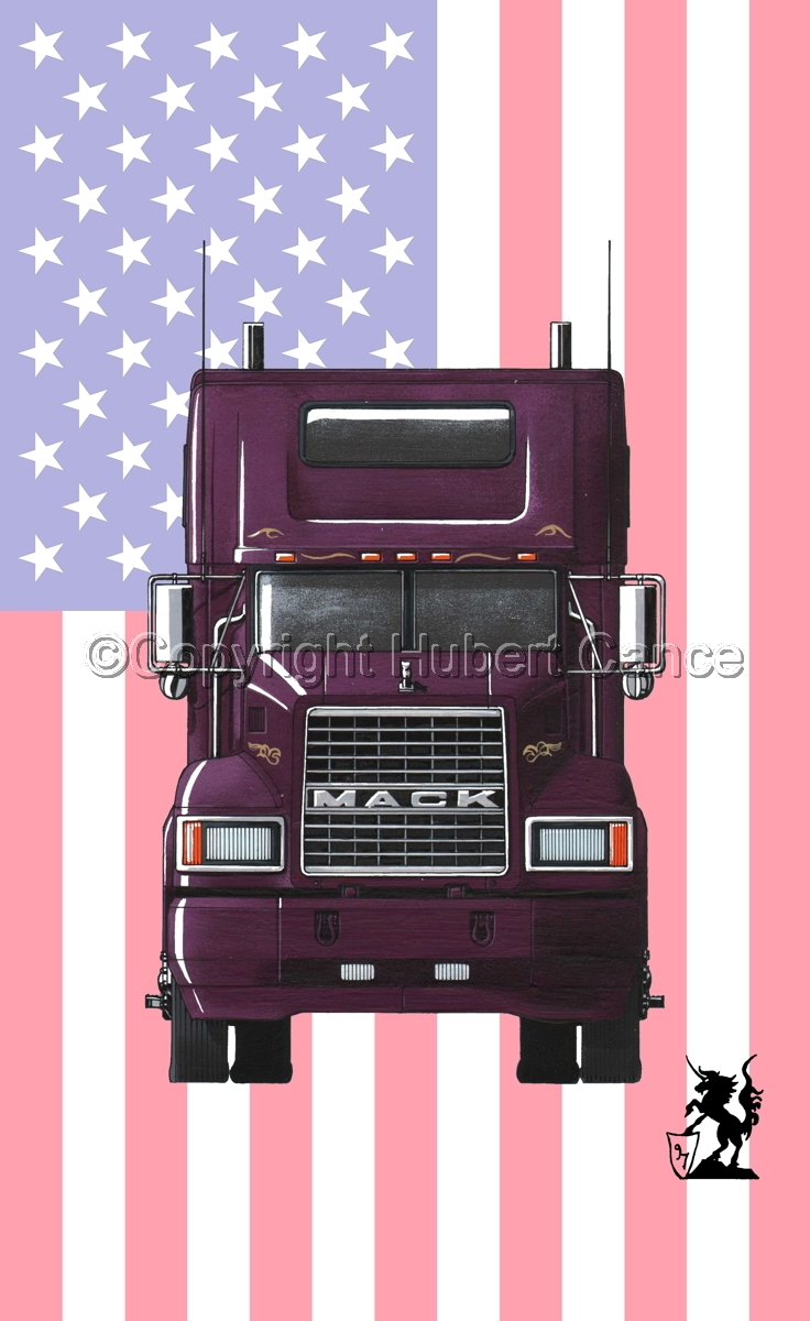 Mack CL600 (Flag #1) (large view)
