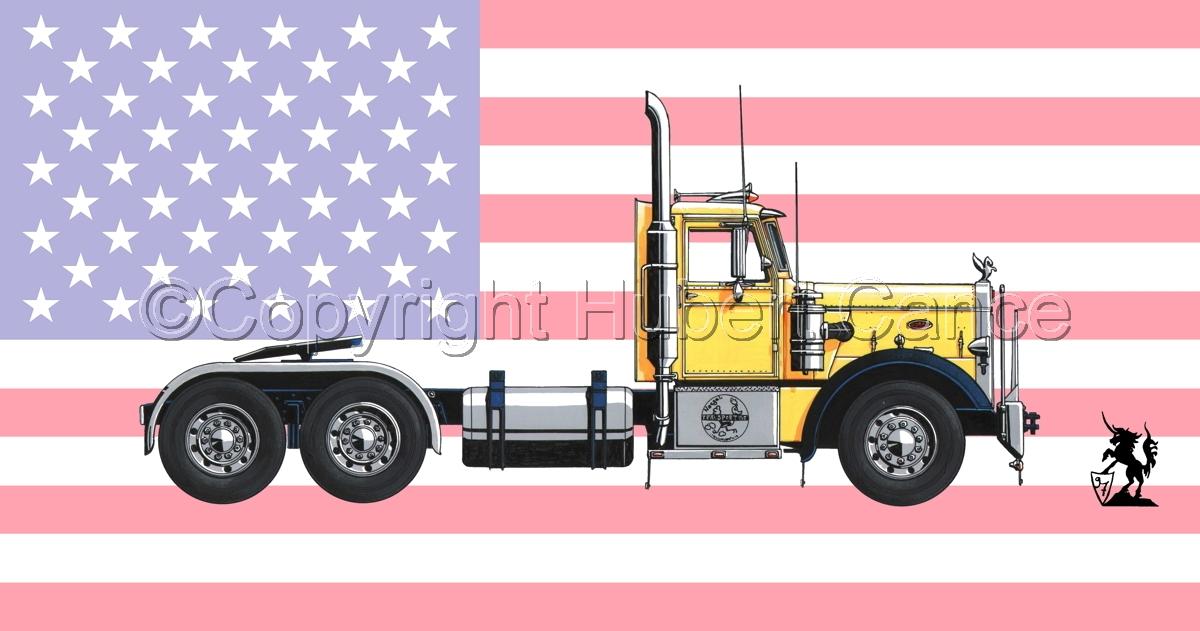 Peterbilt 351 (Flag #1) (large view)