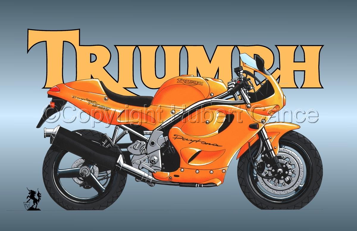 Triumph T595 (Logo #2) (large view)