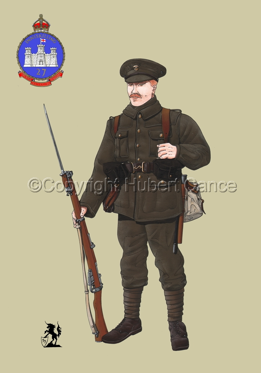 Royal Inniskilling Fusiliers (1914) (Insignia #1.2) (large view)