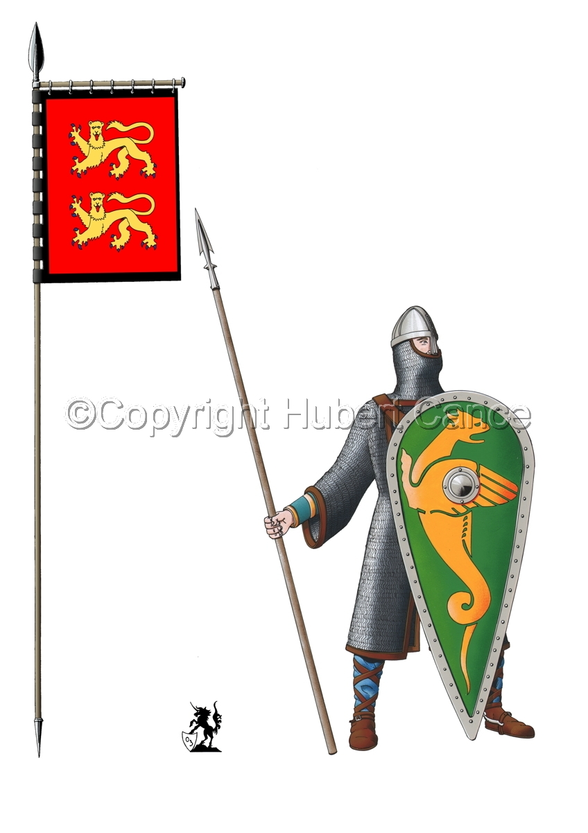 Normand Knight, Hastings (1066) (Banner #1) (large view)