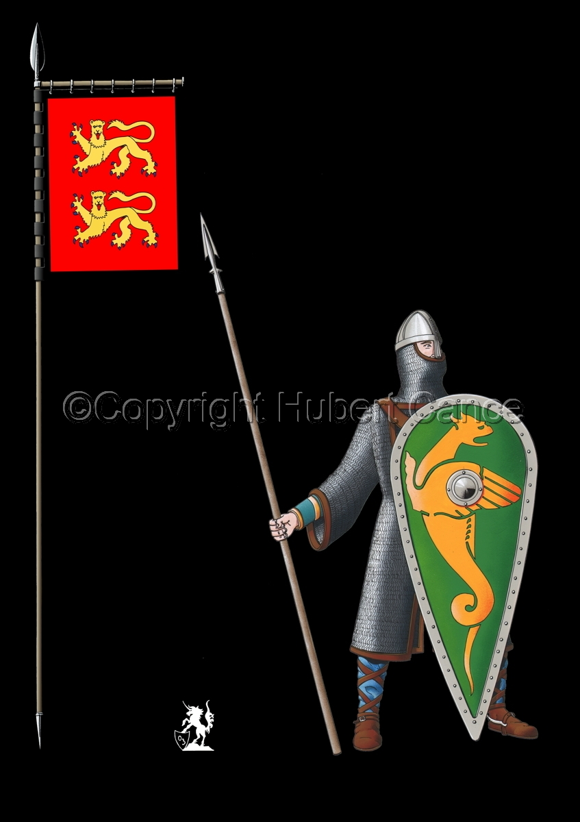 Normand Knight, Hastings (1066) (Banner #2) (large view)