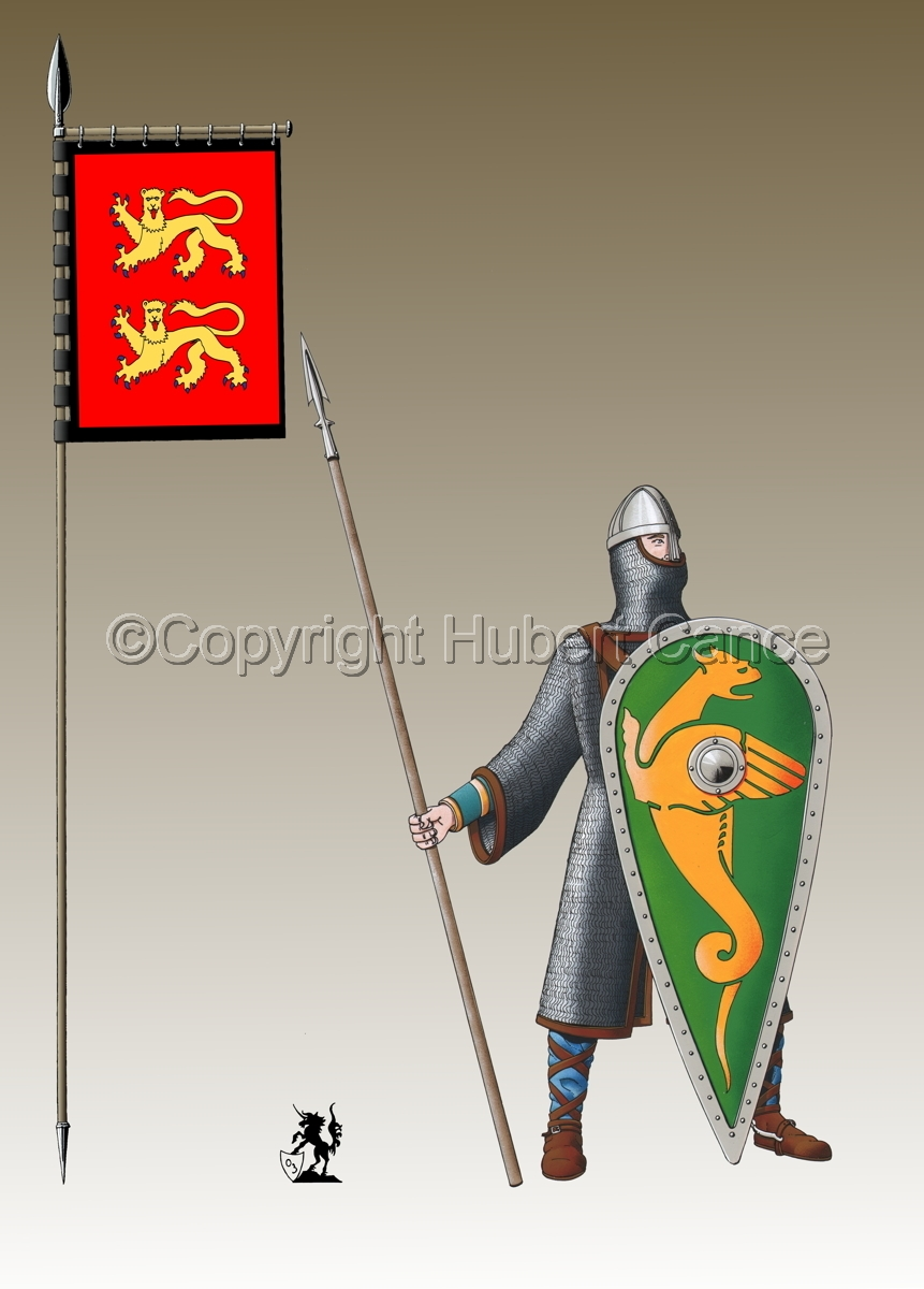 Normand Knight, Hastings (1066) (Banner #3) (large view)