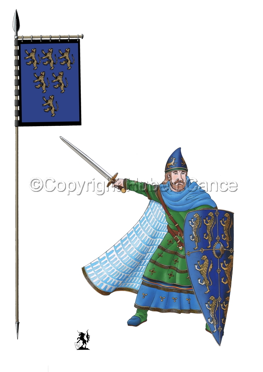 Geoffroy V, Plantagenet, Count of Anjou (Banner #1) (large view)