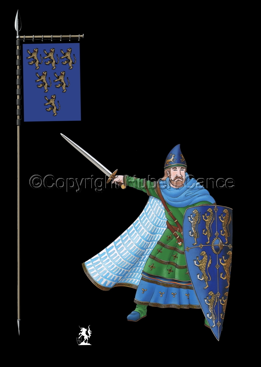 Geoffroy V, Plantagenet, Count of Anjou (Banner #2) (large view)