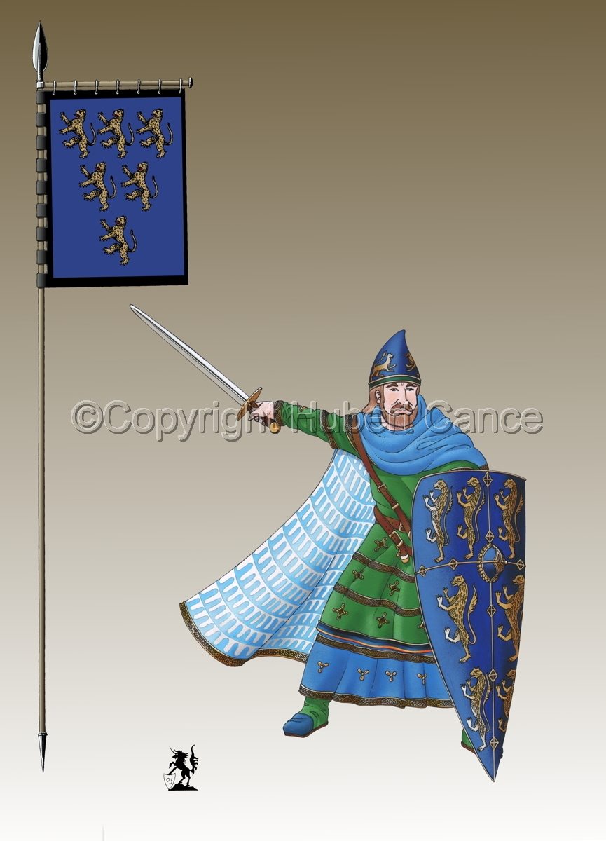 Geoffroy V, Plantagenet, Count of Anjou (Banner #3) (large view)