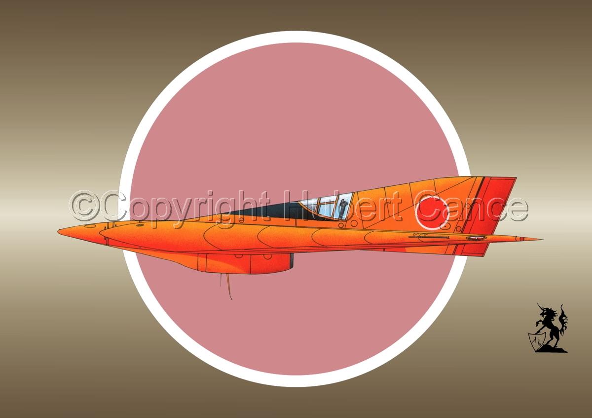 Horten Ho XIIIb Japanese Trainer (Roundel #1) (large view)